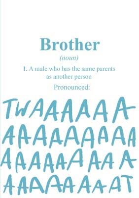 Brother Birthday Cards Moonpig